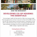 Developing Co-op Housing: The Essentials